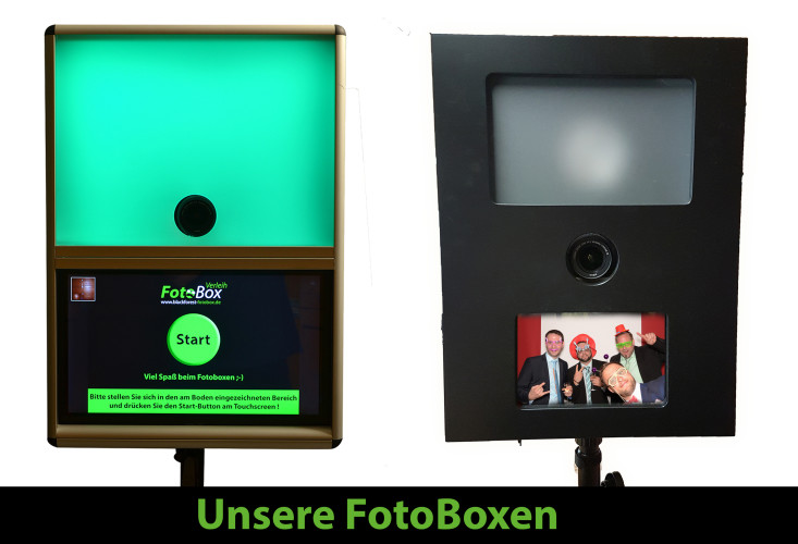 Fotobox/Photobooth schon ab 199,- Euro mieten!