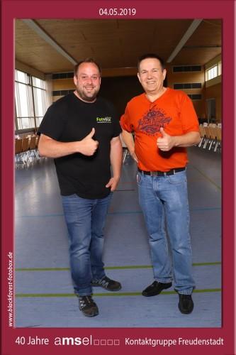 Blackforest-Fotobox unterstützt AMSEL-Kontaktgruppe Freudenstadt