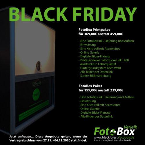 Black Friday bei Blackforest-FotoBox ... Hammer Angebote und Coronasicher